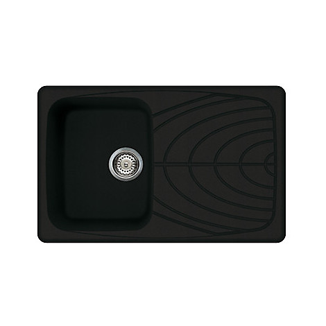 lgm30040 elleci lavello master 300 79x50 1 vasca full black 40