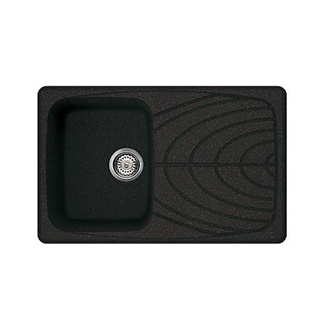 lgm30054 elleci lavello master 300 79x50 1 vasca nero 54