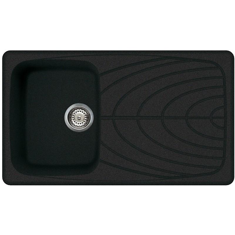 lgm40059 elleci lavello master 400 86x50 1 vasca antracite 59