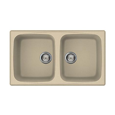lgm45074 elleci lavello master 450 86x50 2 vasche avrelle 74