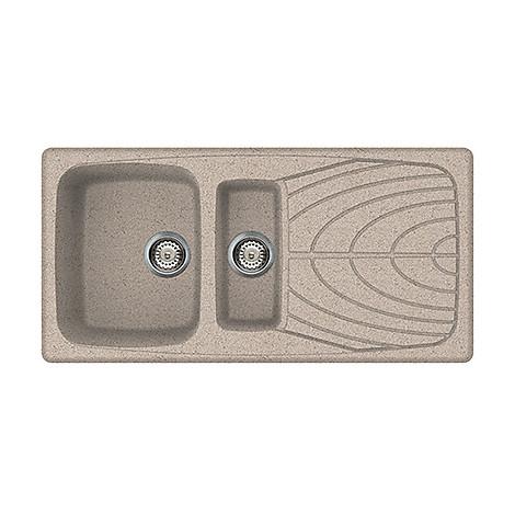 lgm47553 elleci lavello master 475 100x50 2 vasche terra 53