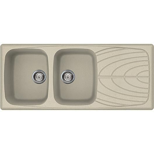 lgm50057 elleci lavello master 500 116x50 2 vasche pietra vecchia 57