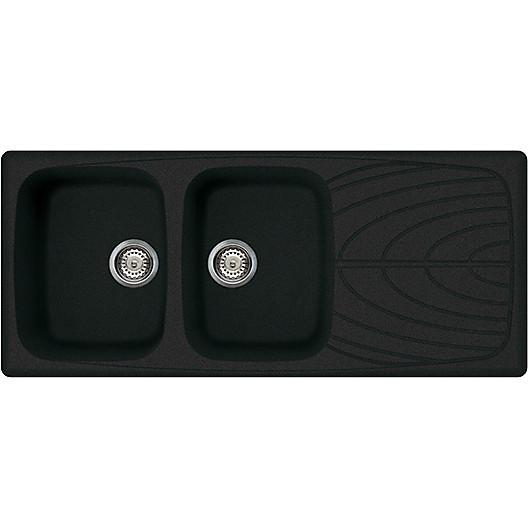 lgm50059 elleci lavello master 500 116x50 2 vasche antracite 59