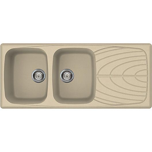lgm50074 elleci lavello master 500 116x50 2 vasche avrelle 74