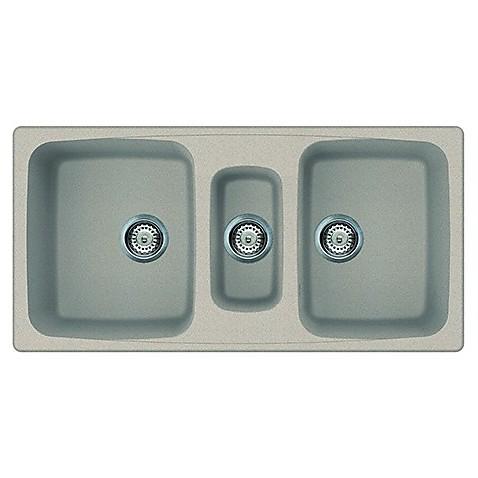 lgm55051 elleci lavello master 550 100x50 3 vasche avena 51