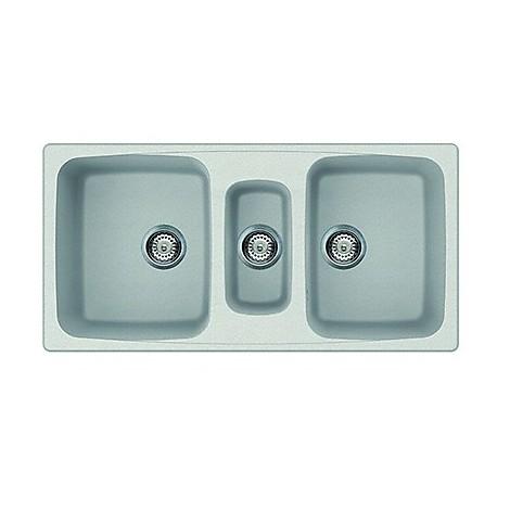 lgm55052 elleci lavello master 550 100x50 3 vasche bianco 52