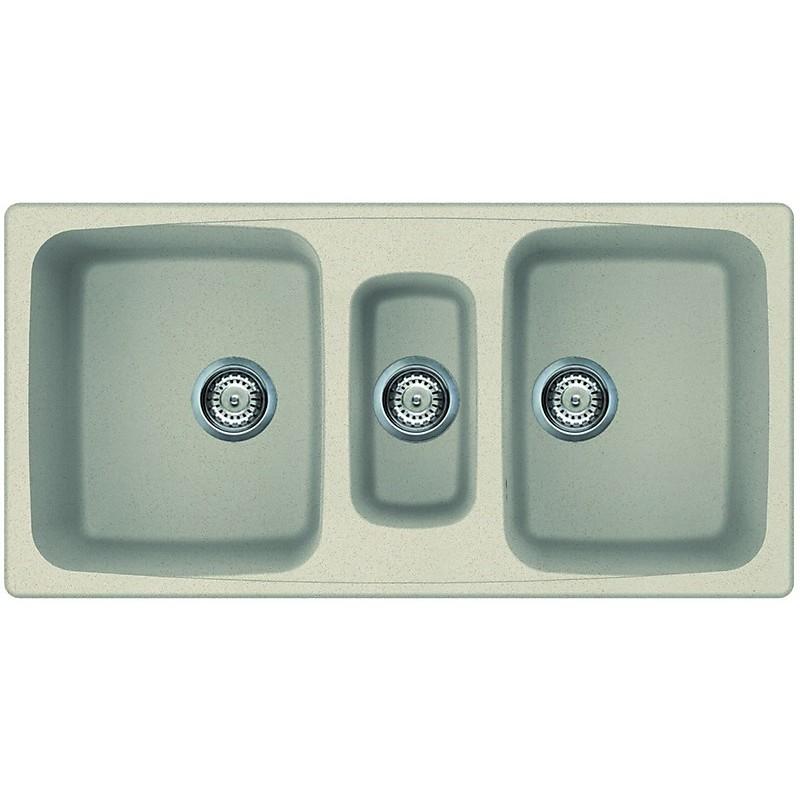 lgm55061 elleci lavello master 550 100x50 3 vasche pietra antica 61