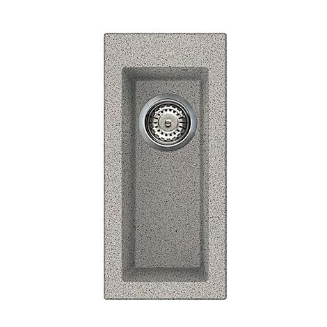 lgq05055 elleci lavello quadra 50 23x50 1 vasca grigio 55