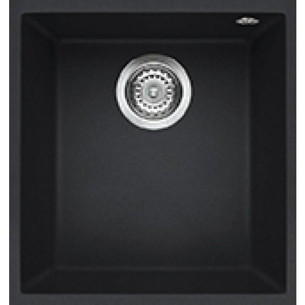 lgq10059bso elleci lavello quadra 100 38x44 1 vasca antracite 59 sotto top