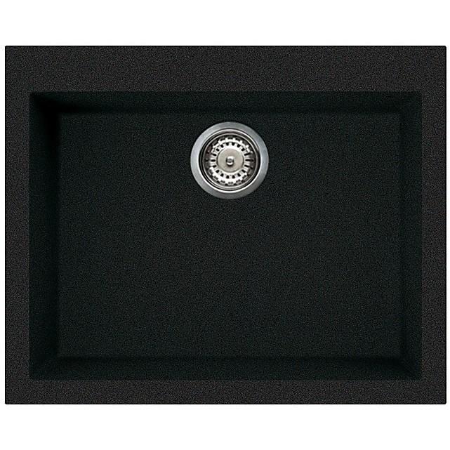 lgq11059 elleci lavello quadra 110 61x50 1 vasca antracite 59