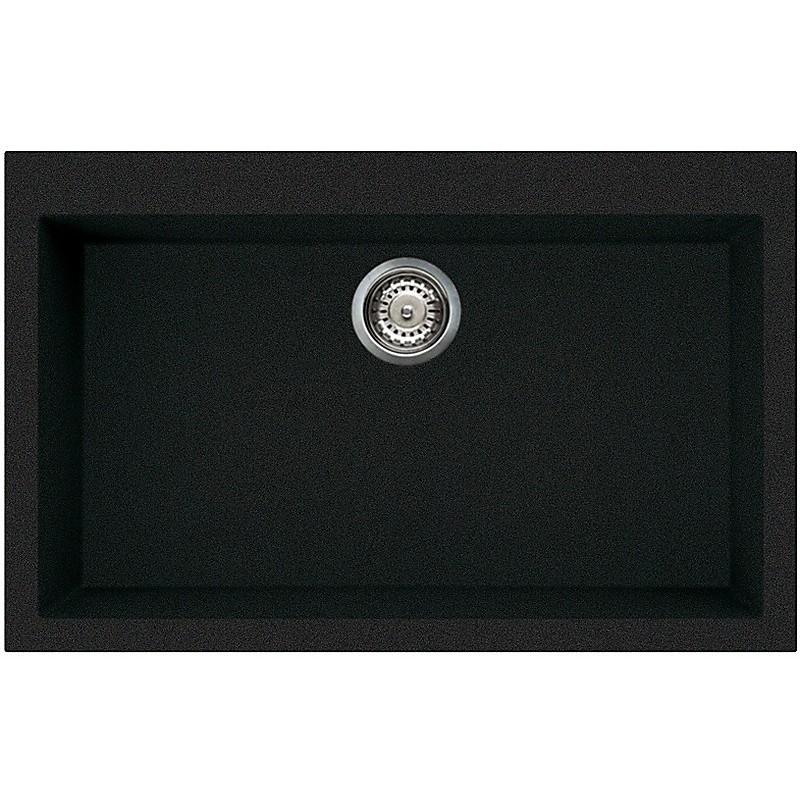 lgq13059 elleci lavello quadra 130 79x50 1 vasca antracite 59