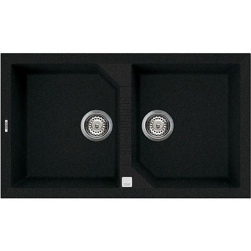 lgt45059 elleci lavello tekno 450 86x50 2 vasche antracite 59