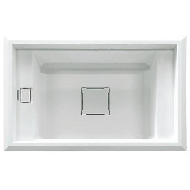 lgv13052 elleci lavello value 130 77x50 1 vasca bianco 52