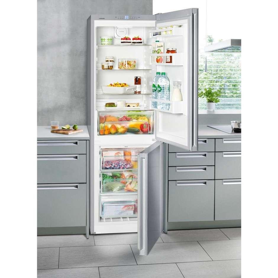 Liebherr CNEL4313 frigorifero combinato 304 litri NoFrost classe A++ argento