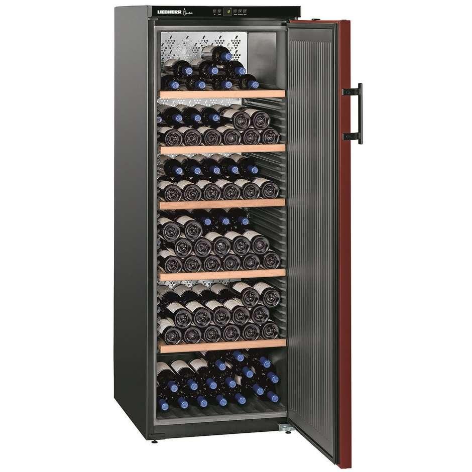 Liebherr WKr 4211 Vinothek frigo cantina climatizzata 200 bottiglie Classe A++ colore Nero
