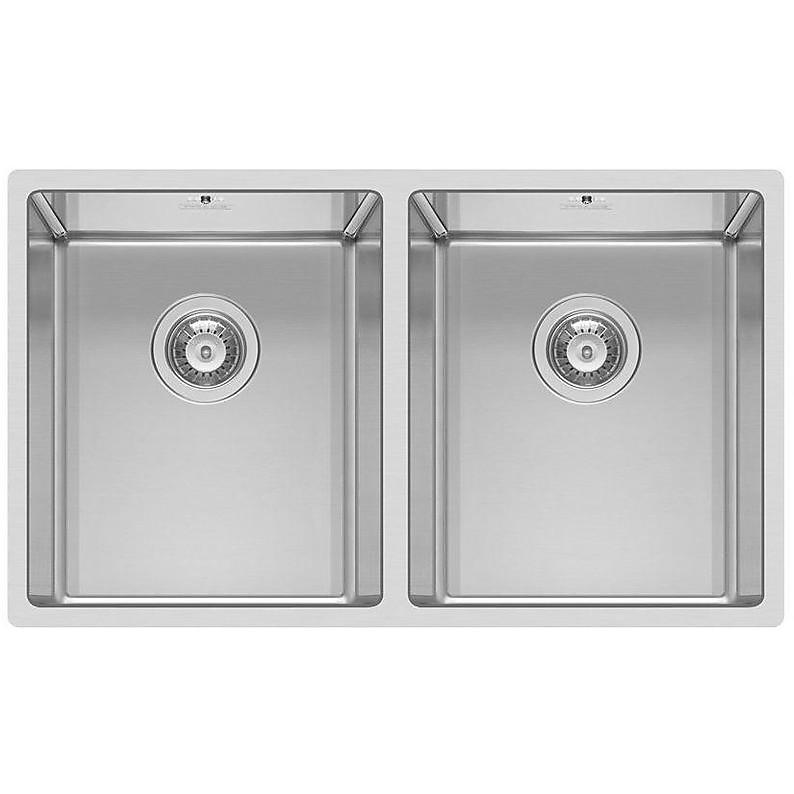 liq720sac2u14 elleci lavello inox square 720 780x4 2 vasche satinato cartone r14 sottotop