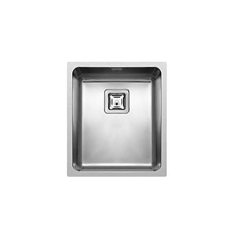 liw340sac elleci lavello inox w-square 34x40 1 vasca satinato cartone r25