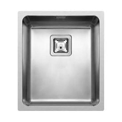 liw340sacun elleci lavello inox w-square 34x40 1 vasca satinato cartone r25 sottotop