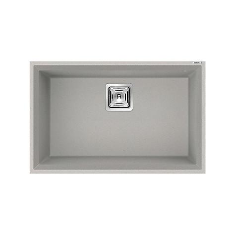 lmk12079bsc elleci lavello karisma 120 70x50 1 vasca aluminium 79 sottotop con troppo pieno