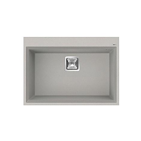 lmk12079btp elleci lavello karisma 120 70x50 1 vasca aluminium 79 con troppo pieno