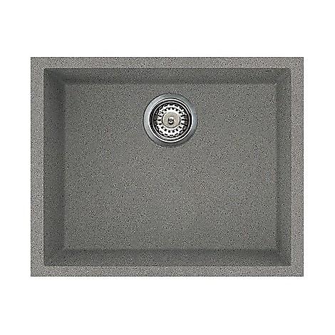 lmq10573bso elleci lavello quadra 105 54x44 1 vasca titanium 73 sotto top