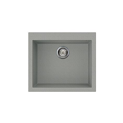lmq10577a25 elleci lavello quadra 105 57x50 1 vasca chromium 77