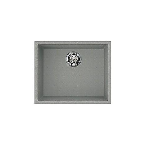 lmq10577bso elleci lavello quadra 105 54x44 1 vasca chromium 77 sotto top