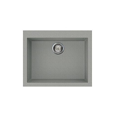 lmq11077 elleci lavello quadra 110 61x50 1 vasca chromium 77