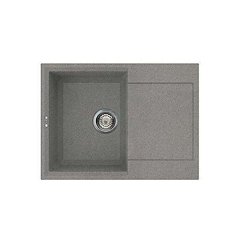 lmy13573 elleci lavello easy 135 68x50 1 vasca titanium 73