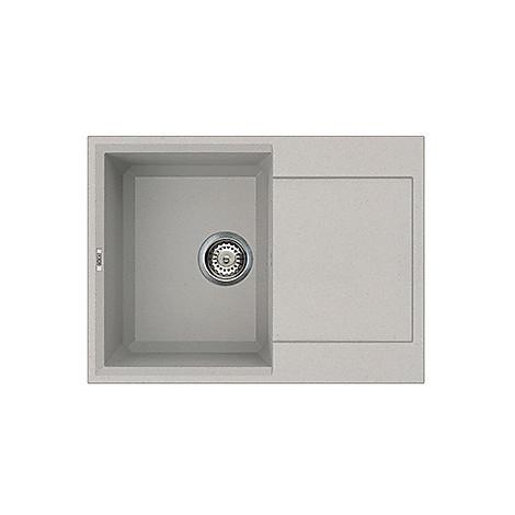 lmy13579 elleci lavello easy 135 68x50 1 vasca aluminium 79