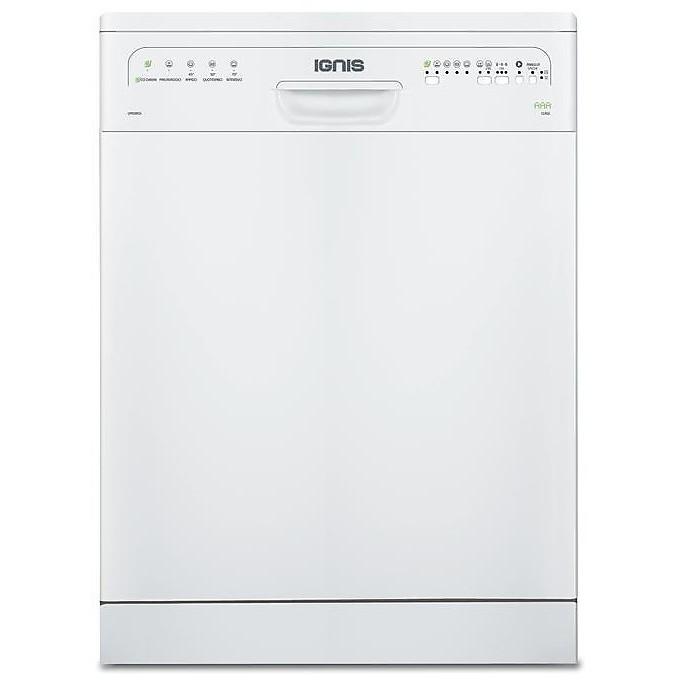 lpa-58eg/wh ignis lavastoviglie classe aaa 12 coperti 5 programmi bianca
