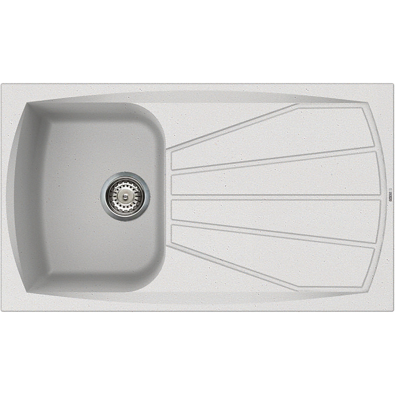 lsl40011 elleci lavello living 400 86x50 1 vasca bianco 11