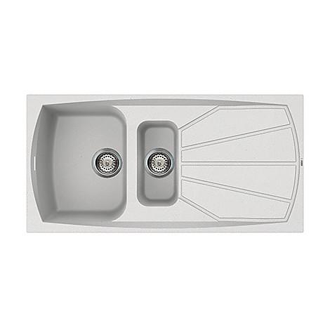 lsl47511 elleci lavello living 475 100x50 2 vasche bianco 11