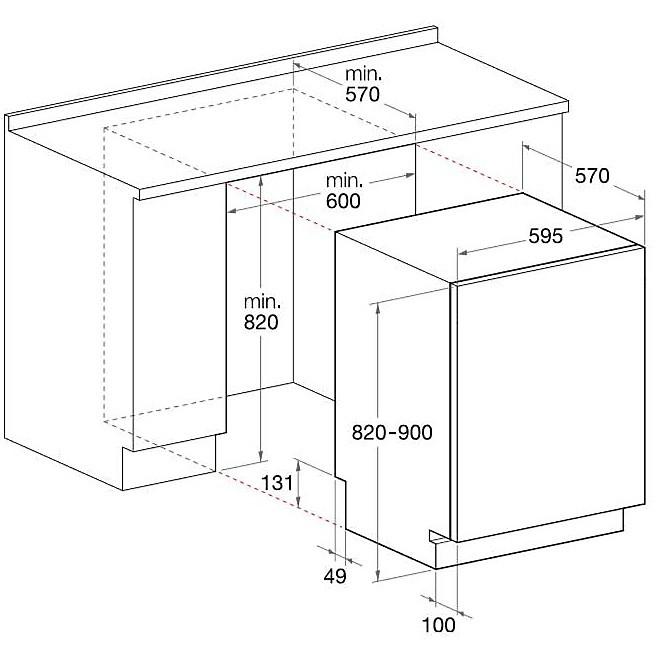 ltf-11t123 eu hotpoint/ariston lavastoviglie da incasso classe a++ 14 coperti