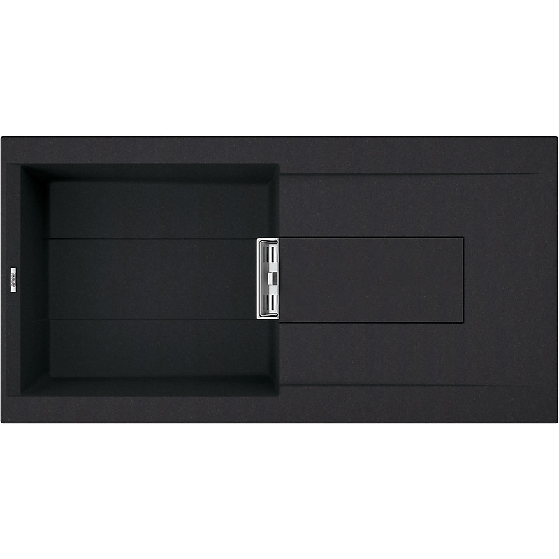 lvi48086smt elleci lavello smart 480 100x51,6 1 vasca black 86 meccanico