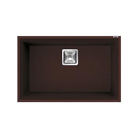 lvk12090bsc elleci lavello karisma 120 70x50 1 vasca chocolate 90 sottotop con troppo pieno