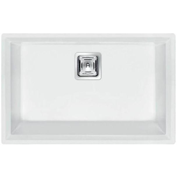 lvk12096bsc elleci lavello karisma 120 70x50 1 vasca white 96 sottotop con troppo pieno