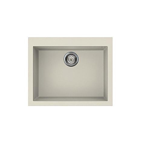 lvq11092 elleci lavello quadra 110 61x50 1 vasca old white 92