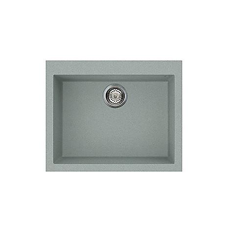 lvq11097 elleci lavello quadra 110 61x50 1 vasca silver 97