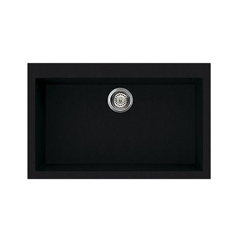 lvq13086 elleci lavello quadra 130 79x50 1 vasca black 86