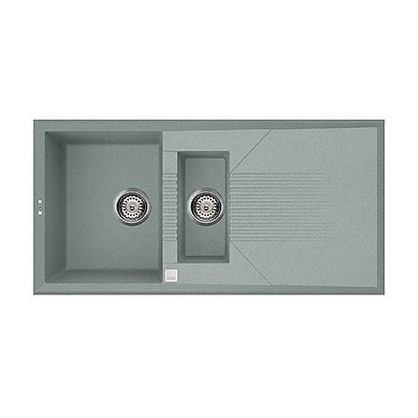 lvt47597 elleci lavello tekno 475 100x50 1 vasca silver 97