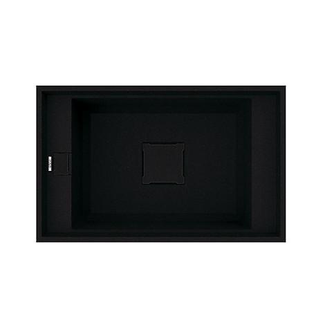 lvv13086bso elleci lavello value 130 77x50 1 vasca black 86 sottotop