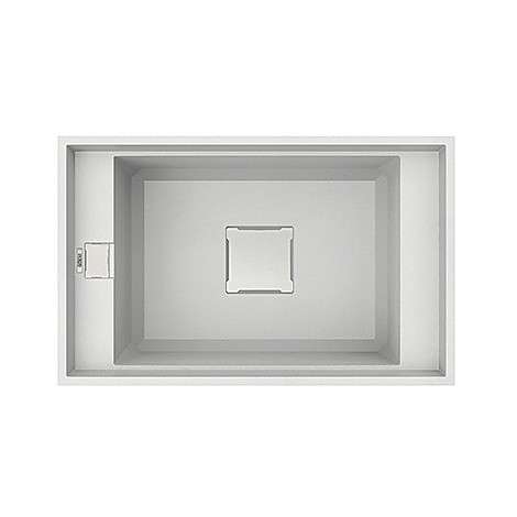 lvv13096bso elleci lavello value 130 77x50 1 vasca white 96 sottotop