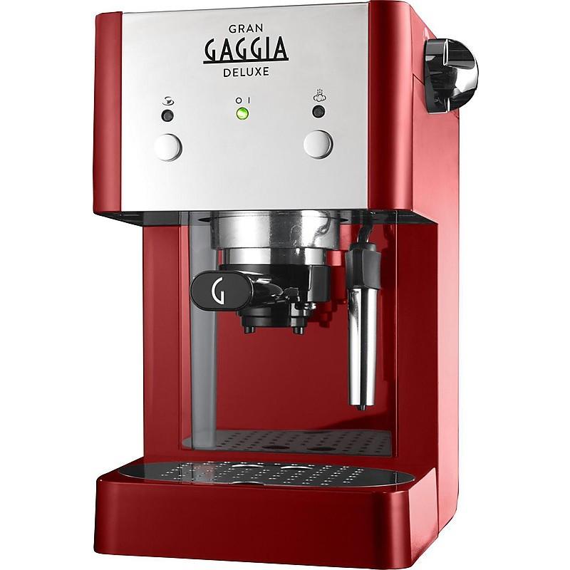 Macchina Del Caffè grangaggia deluxe red