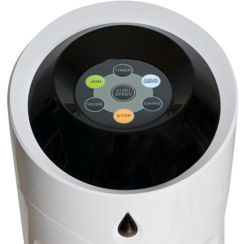 Macom Breeze Tower 997 raffrescatore evaporativo oscillante con funzione ionizzante