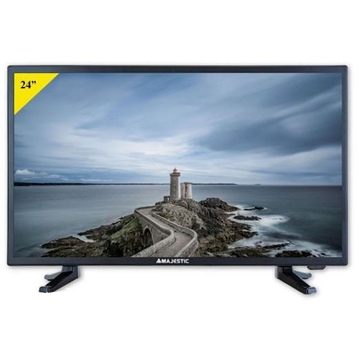 "Majestic TVD-224 S2 LED MP11 Tv LED 24"" Full HD DVB-T/T2 HD Hotel mode classe A colore nero"