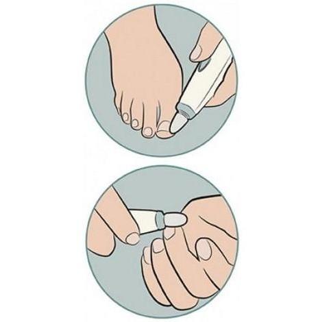 man-150eu homedics kit rifinitore unghie