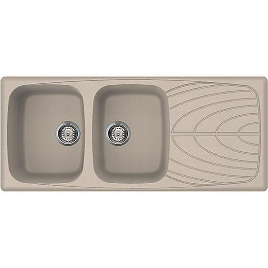 master 500 avena elleci lavello 116x50 2 vasche + g.