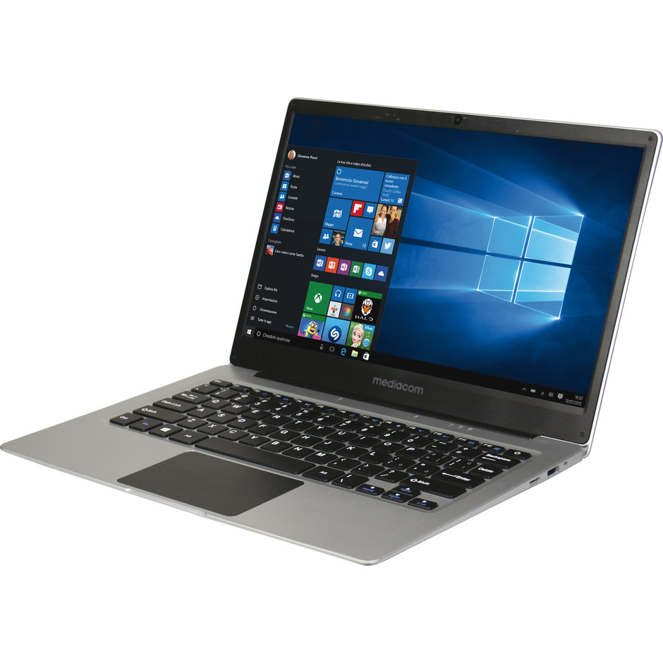 "Mediacom M-SB130 Smartbook 13,3"" Atom- Z8350 Ram 4 GB SSD 32 GB Windows 10"