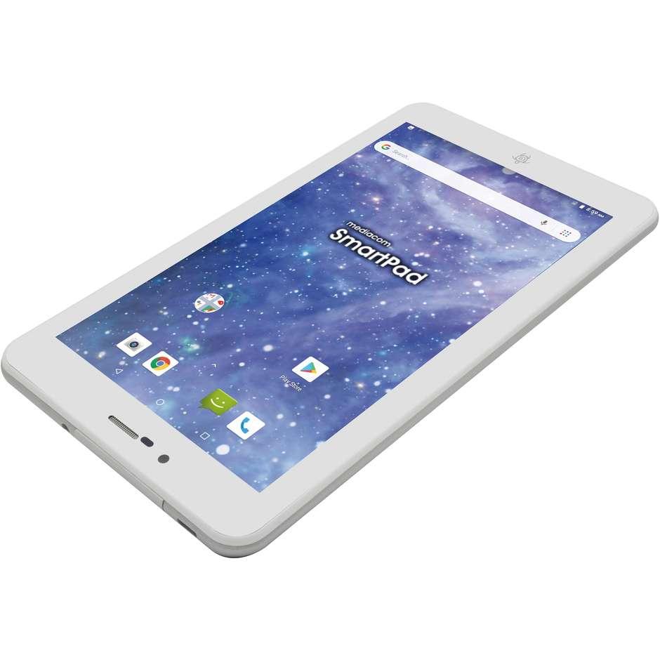 "Mediacom M-SP7BY SmartPad iyo 7 Tablet 7"" Ram 1 GB memoria 8 GB colore bianco"